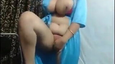 Indian bhabi with vibrator and big boobs