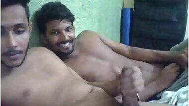 Tricked - 2 Str8 indians - 1 masturbates _ cum _ the other is convinced to