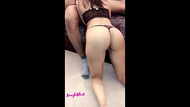 Cheating Wife Bangladesh fuck BBC for money she can't stop Moaning