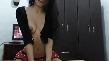 Indian sucking off boyfriend and riding